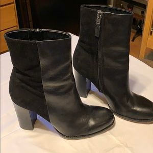 Sam Edelman Leather High Ankle Boots